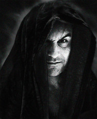Vador (Natilus.photo) Tags: noir et blanc monochrome visage portrait horreur white bw face black ombre lumière light diable devil