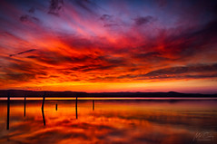 CCLJ150401 (Mathew Courtney) Tags: longjetty nsw reflections sunset water clouds