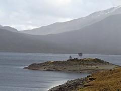 8625 Low level istmus, high level islet (Andy - Busyyyyyyyyy) Tags: 20170319 ccc clouds glenquoich lll lochcuiach lochquoich misty mmm mountains murky qqq reservoir rrr scotland water www