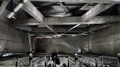 (t_lasserre) Tags: concrete beton ombre shadows light brutalist architecture ter fovam station metro budapest
