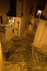 otranto (Blue Spirit - heart took control) Tags: otranto puglia notte night scale stairs