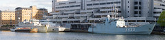 SNMCMG1 April 15th 2017 (11 of 11) (johnlinford) Tags: a433 auxiliary canarywharf docklands emlwambola hnlmsschiedam hnomshinnøy london londondocklands m343 m860 military minesweeper nato navy snmcmg1 ship southquay standingnatominecountermeasuregroup1 vessle