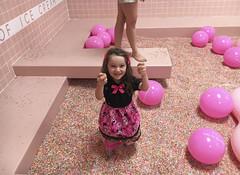 Museum Of Ice Cream - Los Angeles 2017 (evaxebra) Tags: museum ice cream icecream moic museumoficecream art pink installation losangeles la downtown 7th luna minnie mouse dress sprinkles sprinkle pool rainbow