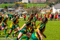 2017:03:25 14:28:49 (serenbangor) Tags: 2017 aberystwyth aberystwythuniversity bangoruniversity seren studentsunion undebbangor varsity rugby rugbyunion sport womens