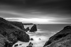 Sea & Rock (James Etchells) Tags: lizard peninsula kyance cove seascapes seascape sea ocean water waves long exposures exposure black white monochrome movement motion lee filters nikon national trust south west cornwall kernow sky clouds rocks coastal coast photography landscapes landscape light dark