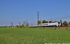 E402B 150 (MattiaDeambrogio) Tags: treno treni train trains e402 e402b pontecurone intercity