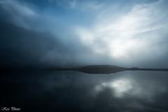 Misty sunset (KESS Photos) Tags: asturias somiedo nature naturaleza sunset atardecer mist misty nikon d750 landscape waterscape lago lake mountain montaña niebla cloud nube valle valledellago cielo sky