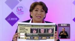 Delfina Gómez no se asume ganadora del debate, pero celebra encabezar preferencia electoral (conectaabogados) Tags: asume celebra debate delfina electoral encabezar ganadora gómez pero preferencia