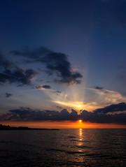 sunset I (Digicam-Beratung) Tags: deutschland norddeutschland schleswigholstein sonnenunteraufgang schönberg de