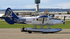 C-GHAG 2017-04-20 YVR (Gert-Jan Vis) Tags: cghag vancouver harbourair dhc3 twinotter 214 royals victoria