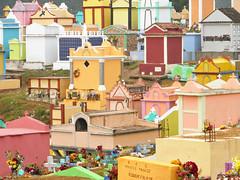 Colorful (Alveart) Tags: guatemala centroamerica centralamerica latinoamerica latinamerica alveart luisalveart quiche elquiche chichichichicastenango ladino colorful graveyard cementerio tombsguatemala