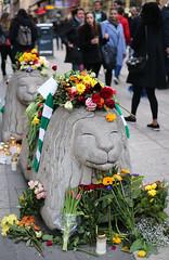 (Christine H.C. Valenzuela) Tags: stockholm sweden sverige terror attack people community united grieving tragedy 2017 peace terrorism love unity swedish svenska svenskar flowers europe life