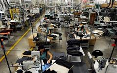 Consumer Protection Textile Industry (Maria Brianchon) Tags: horizontal employment machine mantova italy ita