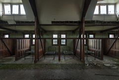 The Dorm taken today (Paul J Photography) Tags: urbex abandoned architecture wood church seminary college wigan