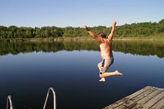 Morning bath (My Best Images) Tags: bada henrik kyrksjön norraängby ängby