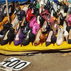 Satisfy your heels madness .  #Day116 #HighHeels #Stilletos . (c) Marlene C. Francia 2017 . . . . . . . . . . . . . . . . . . . #YourDiscardsMyTreasures #Preloved #SegundaMano #everydayafrica #everydaykenya #everydaynairobi #shoes #FourDollars #Secondhand
