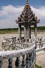 Temple Ruins (tim.perdue) Tags: wood ohio london abandoned stone rural temple carved cambodian khmer decay empty buddhist painted forgotten vacant ornate watt crumbling decorated puthipreak