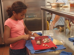 Chopping mushrooms (Anika Malone) Tags: food cooking losangeles mtwashington ramonahall
