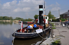 tugs at rest (midcheshireman) Tags: river boat cheshire tugboat tug weaver kennet kerne