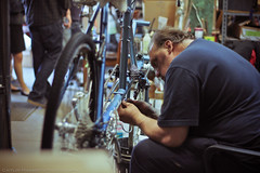 John (Caitlin Magarity Photography) Tags: blue moon philadelphia beer shop work bikes bicycles crew production filming bluemoon bilenky dbg bilenkycycleworks