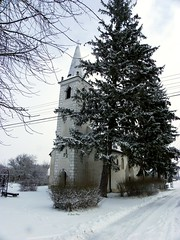 IMGP0251 (Peti0061) Tags: winter snow church hungary religion templom magyarország chatolic katolikus winter2010 vallás vasmegye peti0061 nagygeresd