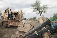 Thousands of Refugees Moved Before the Rains Hit South Sudan (UNHCR) Tags: southsudan relocation trucks sudaneserefugees