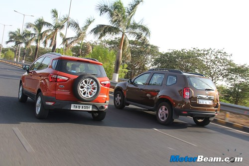 Ford EcoSport Vs Renault Duster 04