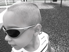 Jacob (byrdiegyrl) Tags: boy sunglasses june georgia play jacob twin slide savannah 2013 threeyrsold