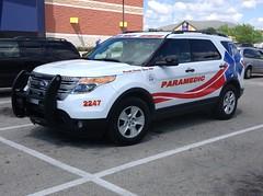 New Castle/Henry County EMS (Tyson1976) Tags: firetrucks policecars emergencyvehicles newcastleindiana fordexlorer fordsuvs henrycountyems