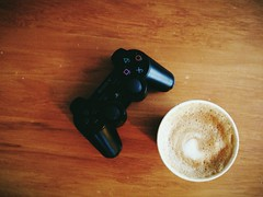 Plans (Ruairidh an Dorcha) Tags: coffee gaming ps3 vsco vscocam uploaded:by=flickrmobile flickriosapp:filter=nofilter
