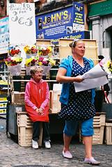 Family Business (Anthony Cronin) Tags: ireland analog superia irelanddublin inner street fuji irishlife street 200 dublinlife dublin dublinirish streetsdublin dublinliving dunne tpastreet photangoirl dublinirelandnikonf7550mmf14d50mmf14danthonycroninallrightsreservedirishphotographystreetsdublinstreetphotographystreetsofdublin