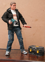 """""""My Brother's Worker"""" - Custom 1/6 Scale Action Figure (_Pixelpiper) Tags: 16scale accessory actionfigure clothing custom jeans tools"""