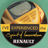 I'VE EXPERIENCED the Spirit of Innovation - RENAULT (Leo Reynolds) Tags: xleol30x squaredcircle badge button pin sqset097 canon eos 40d 0125sec f80 iso100 60mm grouppins groupbuttons groupbadges hpexif xx2013xx