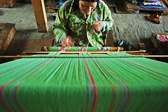 BHU-Thimphu-0604-37-v1 (anthonyasael) Tags: wood portrait people color green girl horizontal laughing work table asian handicraft photography one 1 daylight workers women asia day pattern adult bhutan interior labor daughter working culture lifestyle indoor enjoy portraiture laugh tables occupational worker casual daytime inside cloth eyesclosed weaving enjoying enjoyment adultsonly cultural oneperson dressmaker threads younggirl traditionalculture profession skill skillful childlabor patterned headandshoulders thimphu occupation expertise btn midadult casualclothing midadultwoman professions onewomanonly timphu highangleshot highangleview indiansubcontinent elevatedview asianethnicity landofthunderdragon