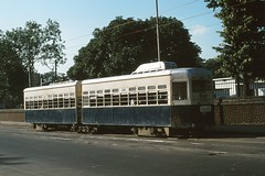Calcutta 580 Mominpore 1980 (Guy Arab UF) Tags: road india public transport tram diamond company trams kolkata articulated calcutta habour 580 tramways sundari mominpore