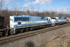 CN SD60 #5484 (phiffer01) Tags: ontario canada train hamilton canadian national freight canadiannational oakway