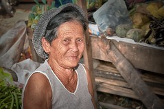 Old woman at Puerto Public Market, Mindanao, Philippines (nigel_xf) Tags: old woman face puerto nikon gesicht market philippines oldwoman frau markt nigel mindanao philippinen d300 nikond300 nigelxf mygearandme vsfototeam