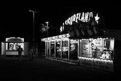 Be Entertained (Steve Hunt Photo) Tags: uk portrait bw white black monochrome grit real mono long exposure fuji fairground traditional country norfolk fair entertainment british local dereham showmen stevehuntphoto fujix100s x100s stevehuntportfolio