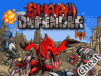 蟲族防禦戰:修改版(Swarm Defender Cheat)
