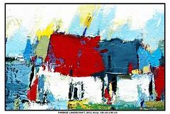 FARBIGE LANDSCHAFT (CHRISTIAN DAMERIUS - KUNSTGALERIE HAMBURG) Tags: orange berlin rot silhouette modern strand deutschland see stillleben dock gesicht meer wasser fenster räume hamburg herbst felder wolken technik menschen container gelb stadt grün blau ufer hafen fluss landungsbrücken wald nordsee bäume ostsee schatten spiegelung schwarz elbe horizont bilder schiffe ausstellung schleswigholstein frühling landschaften wellen häuser kräne rapsfelder fläche acrylbilder hamburgermichel realistisch nordart acrylmalerei acrylgemälde auftragsmalerei bilderwerk auftragsbilder kunstausschreibungen kunstwettbewerbe galerienhamburg auftragsmalereihamburg cdamerius hamburgerkünstler malereihamburg kunstgaleriehamburg galerieninhamburg acrylbilderhamburg virtuellegaleriehamburg acrylmalereihamburg