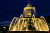 La fontaine (choisya_t) Tags: france night long exposure exposition fontaine nuit foutain angers longue