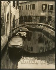 Venice, 2009 (Alexander Tkachev) Tags: venice gum boats canal ohp bichromate contactprint alternativephotography digitalnegative altprocess archesplatine pictorico palladiumprint