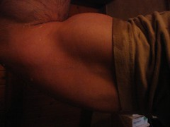 a bodybuilder flexing his huge 18 inch bicep (bigmuscles1819) Tags: muscles big arms arm baseball muscle muscular ripped hunk bodybuilding massive huge strong guns delts shoulders weightlifting bodybuilder flex workout biceps traps thick bicep bulging flexing triceps rockhard bodybuild musclemodel welldeveloped