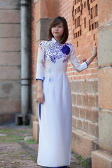 Nhb-110 (panerai87) Tags: church vietnam saigon traditionaldress aodai nhung