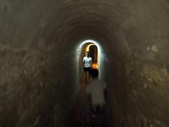 Cartagena (mardruck) Tags: travel vacation southamerica colombia colonial tunnel columbia latinoamerica 12mm 20 fortress cartagena zuiko amricadosul f20 m43 colmbia castillosanfelipedebarajas microfourthirds cartagenadendias olympusep3