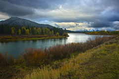 Oxbow Bend - Wyoming (Jackpicks) Tags: fallcolors snakeriver wyoming grandtetonnationalpark oxbowbend mygearandme mygearandmepremium mygearandmebronze mygearandmesilver mygearandmegold inspiringcreativeminds