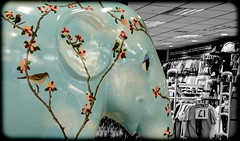 Elephant parade Metro Centre 2013. (CWhatPhotos) Tags: pictures camera elephant black color colour colors by digital pen that lens four photo colours foto tour image photos nation picture olympus images pop parade have fotos penn kit olympuspen which zuiko contain select partial presented selective thirds popping intu esystem 2013 1442mm mzuiko cwhatphotos epl5 elp5