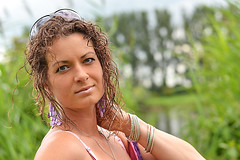 Monika (remuseq) Tags: portrait woman girl beautiful curly portret curlyhair krconewosy
