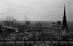 Arc de Triomphe, Louvre, Sainte Chapelle (Fraser P) Tags: autumn paris france architecture de cathedral louvre gothic arc triomphe medieval 1984 notre dame saintechapelle violetleduc