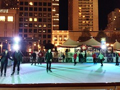 Union Square ice skating (Eric Willis) Tags: unionsquare uploaded:by=flickrmobile flickriosapp:filter=nofilter vision:text=0656 vision:outdoor=0527